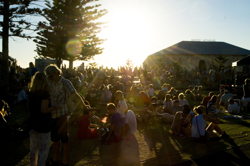 Bathers Beach Sunset Food Markets from 5-9 pm