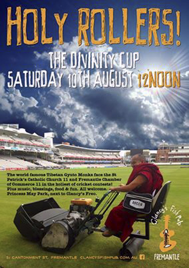 Divine Cricket poster