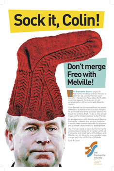 Advertisement for the Fremantle Herald