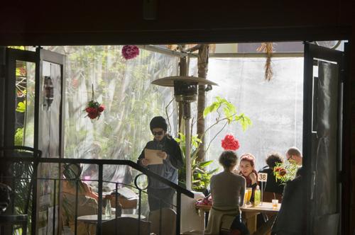 Cafe morning