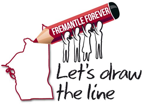 Let's draw the line