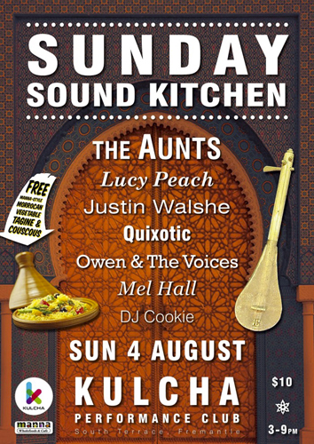 Sunday Sounds Kitchen | Freo's View