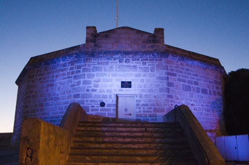 blue Round House