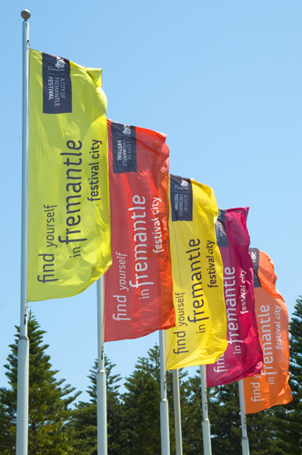Festival banners
