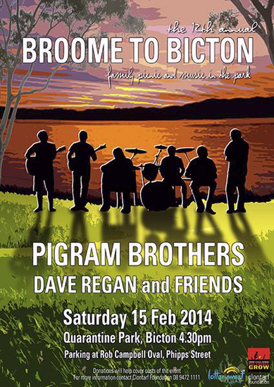 Broome to Bicton