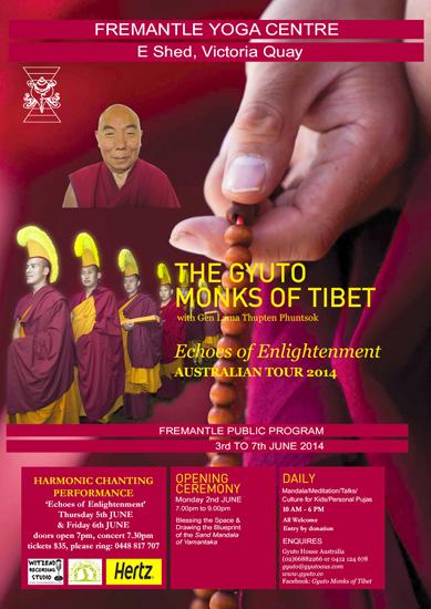 Gyuto Monks June 2014