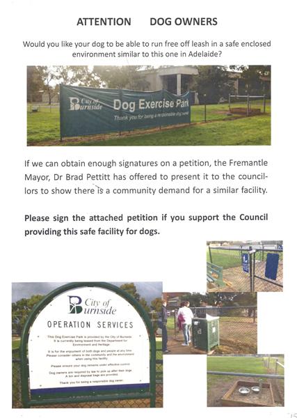 Dog Petition