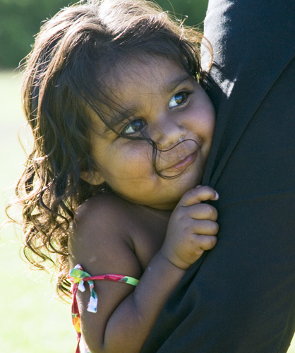 aboriginal girl, tiff