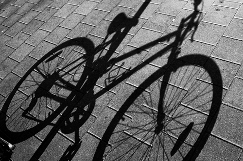 bike shadow, tiff
