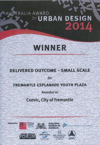Urban Design Award 2014