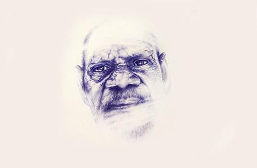 Portrait of Alfred Umbugai by Tessa McOnie