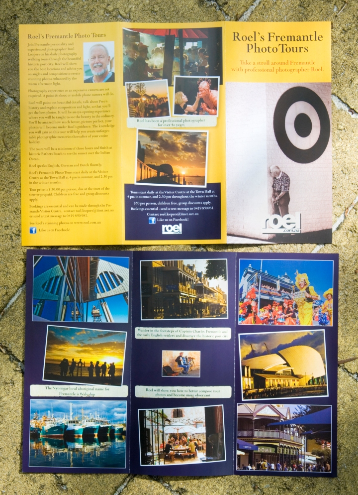 DL brochure Roel's Fremantle Photo Tours