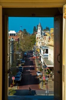 View of Fremantle from Roundhouse