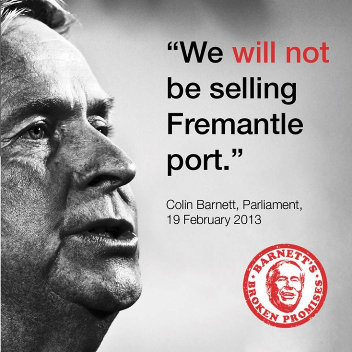 Barnett on Port sale