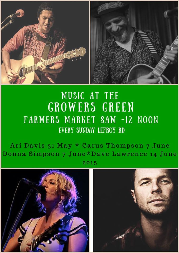 Growers Green music poster