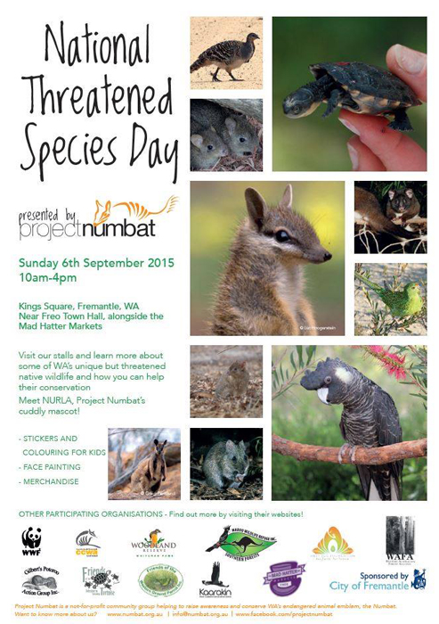 threatened species day