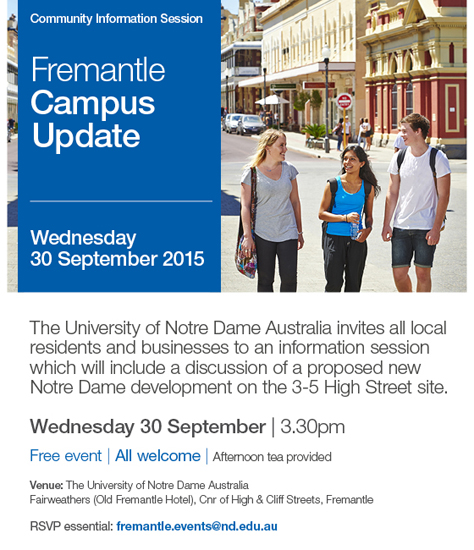 ND1551_Community Information Seminar_Freo_EDM