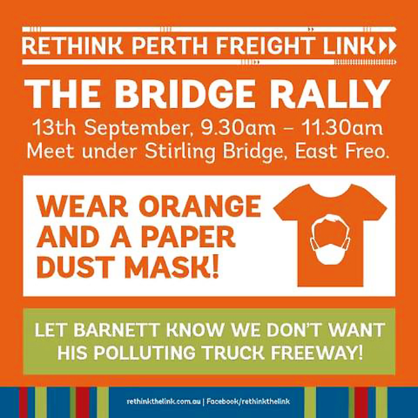 Rethink the link bridge protest