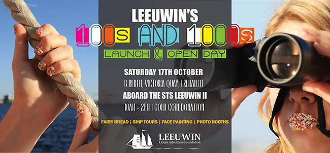 LEEUWIN Open Day Oct 17