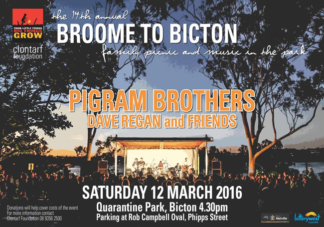 Broom to Bicton on March 12