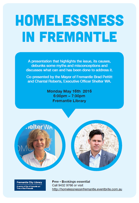 Homelessness in Fremantle
