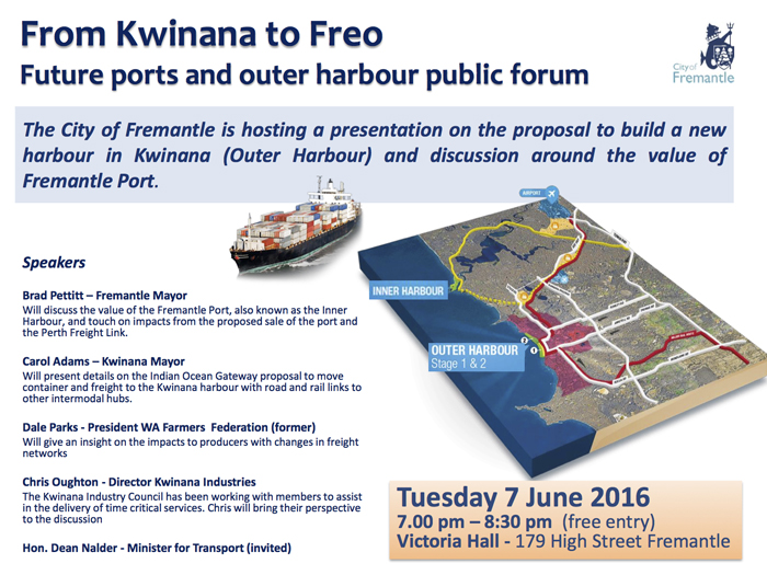 Kwinana to Freo