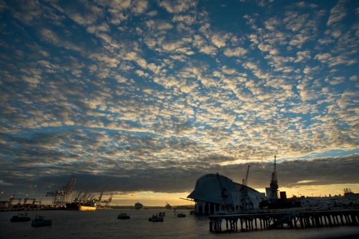 port sunrise
