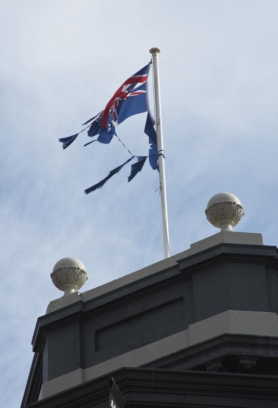 flag disgrace