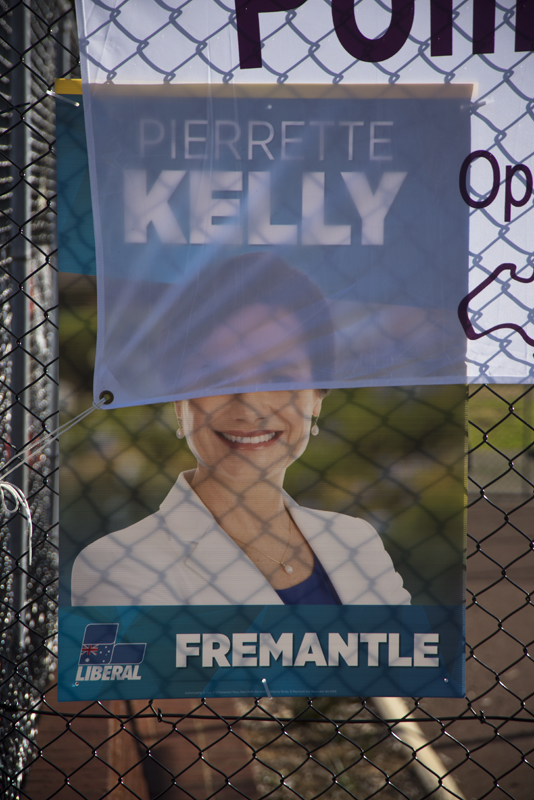 public profile of Freo's Liberal candidate