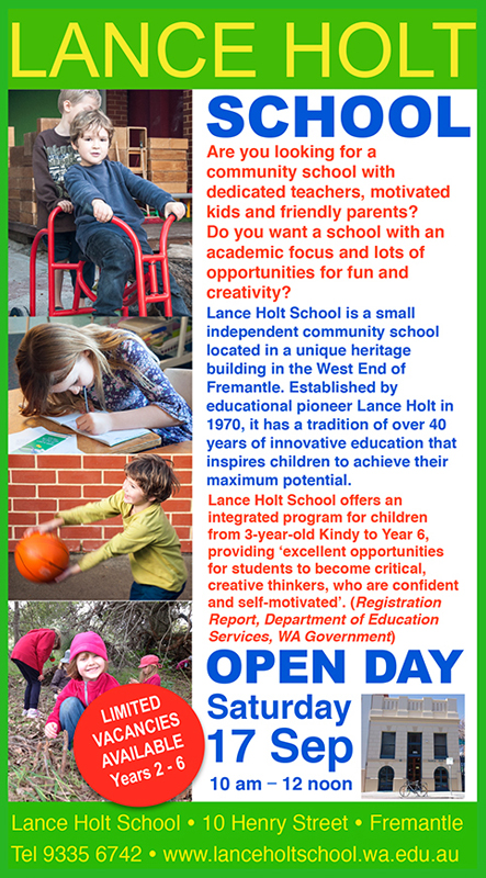 Herald Ad 2016 Open Day
