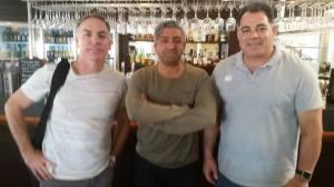Michael Hagan, Saf Ali, Mal Meninga