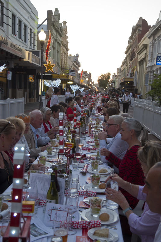 Long Table Dinner In Freo S Historic West End Freo S View