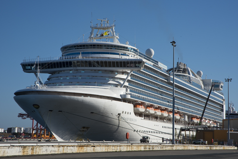 EMERALD PRINCESS VISITS FREMANTLE  Freo39s View