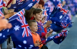 Anzac Day kids