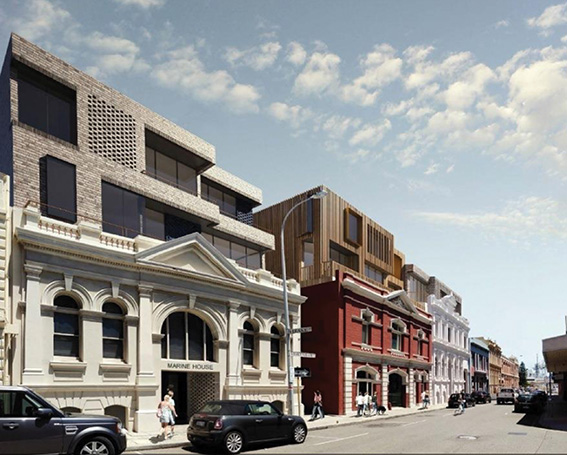 Pakenham Street development proposal