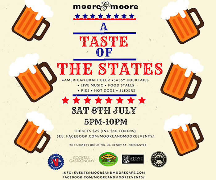 Taste of the States July 9