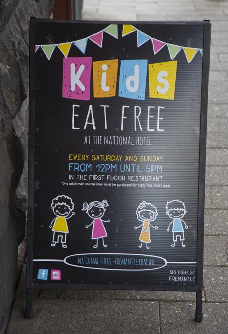 free kids food