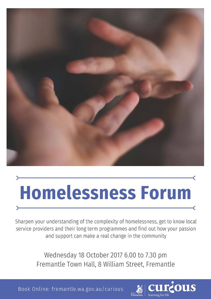 Oct 18. Homeless Forum Townhall