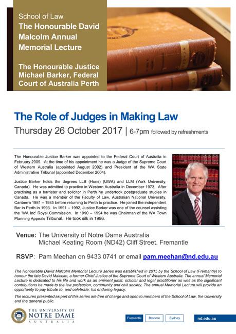 Oct 26 UNDA lecture