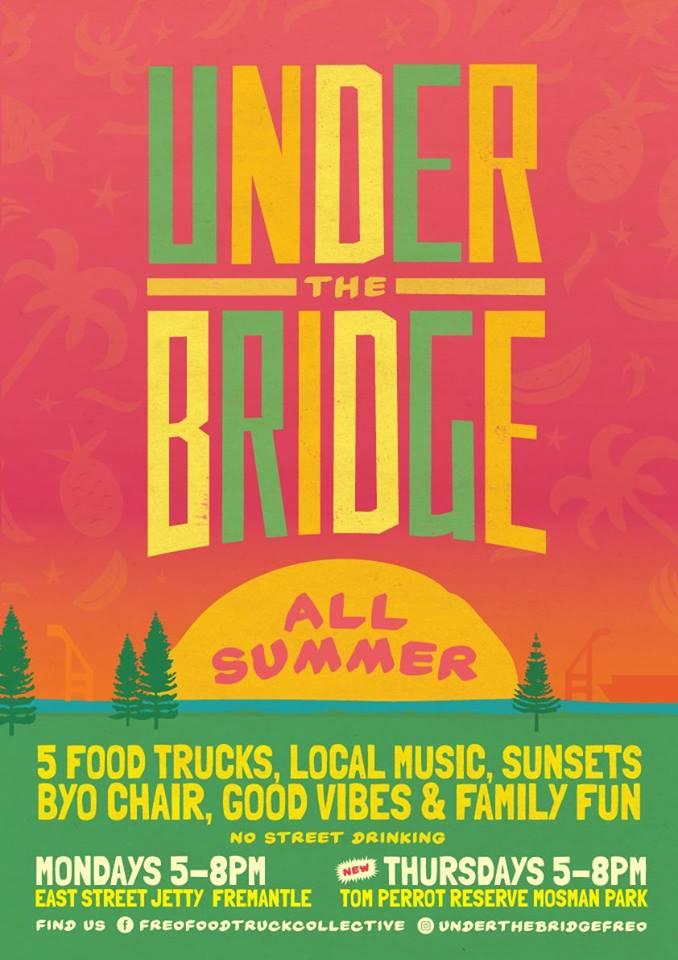 Under the Bridge Food. 16 Oct