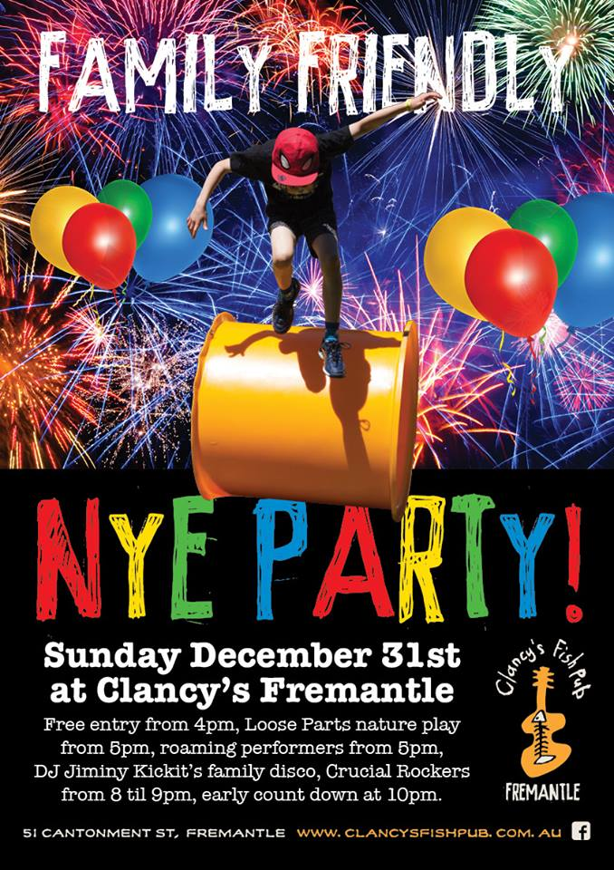 NEW YEAR at Clancys