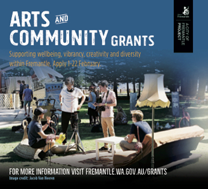COF Arts Grant February 2018
