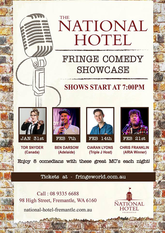 Comedy at National Hotel