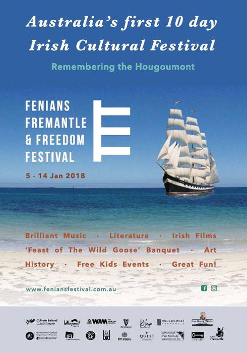 Fenians Festival poster
