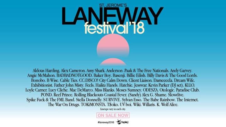 Laneway Fest line up