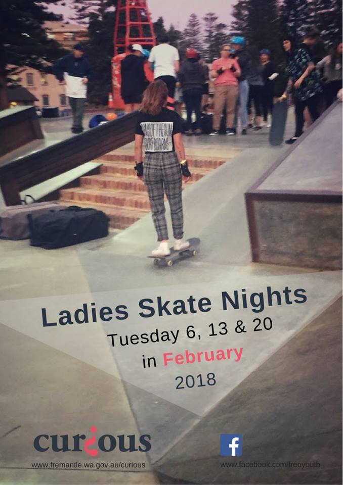 Ladies skate nights 16+