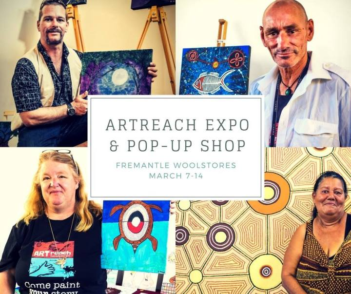 ARTREACH pop up