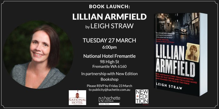 Book launch Leigh Straw