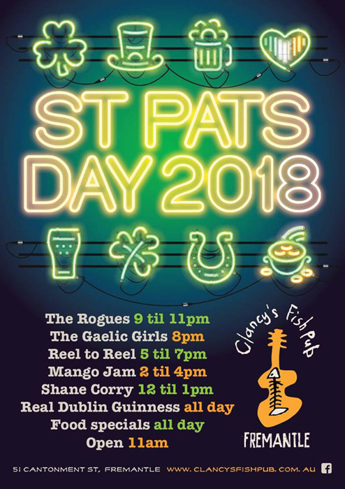 St Pats Clancys