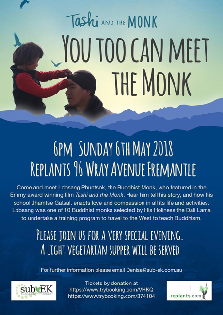 May 6 meet the monk